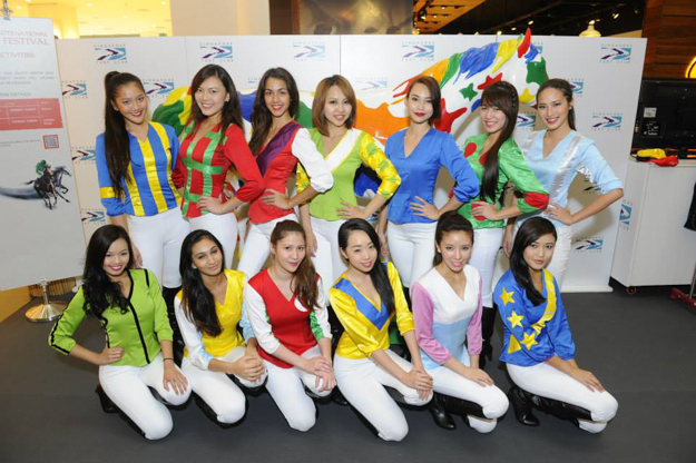 The Turf Belles of the Singapore Turf Club. Photo: Singapore Turf Club.