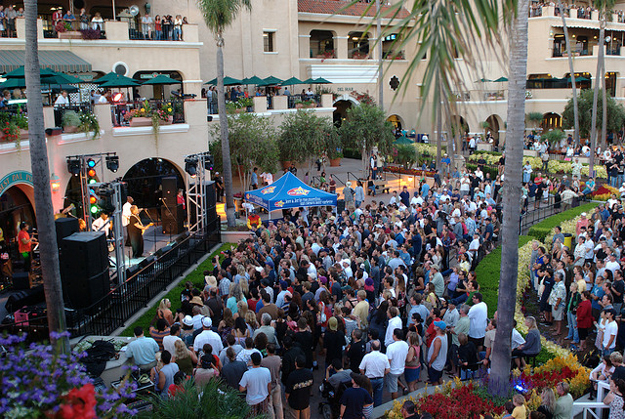Del Mar also regularly hosts raceday concerts. Photo: Gabe Lawrence/Flickr.