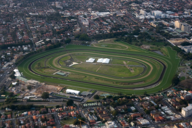 Aeriai view taken in 2012 following the demolition of the Paddock Stand. Credit Maksym Kozlenko
