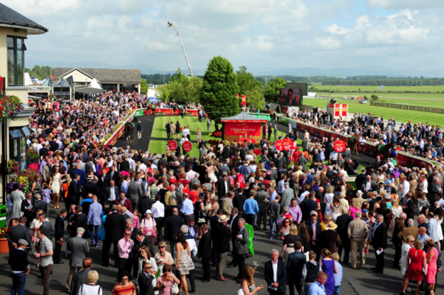 Irish Derby day at the Curragh. Photo via the Curragh.