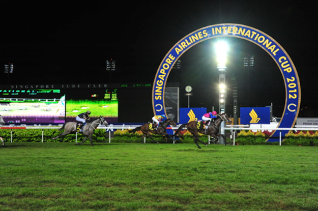 Singapore Airlines International Cup at Kranji Racecouse. Photo: Singapore Turf Club.