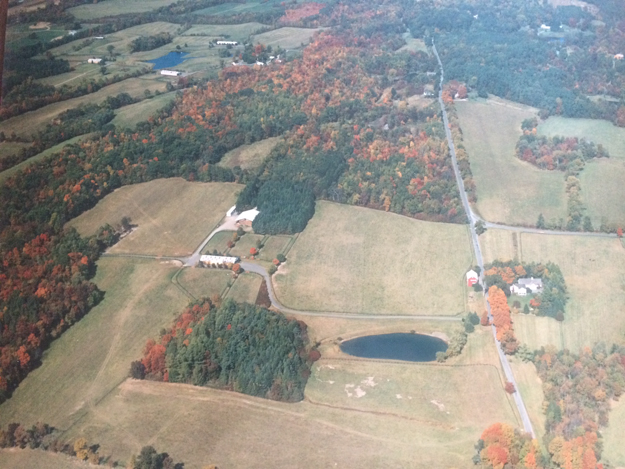 Aerial shot of Gallgher's Stud. Photo via Gallagher's Stud.