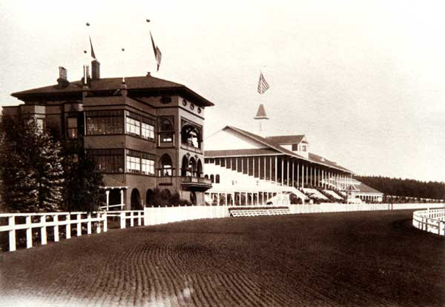 The Clubhouse and Grandstand of the Ingleside Race Track, 1895. Photo courtesy Greg Gaar via Western Neighborhoods Project