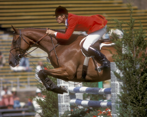 Jet Run and Michael Matz. Photo: Show Jumping Hall of Fame