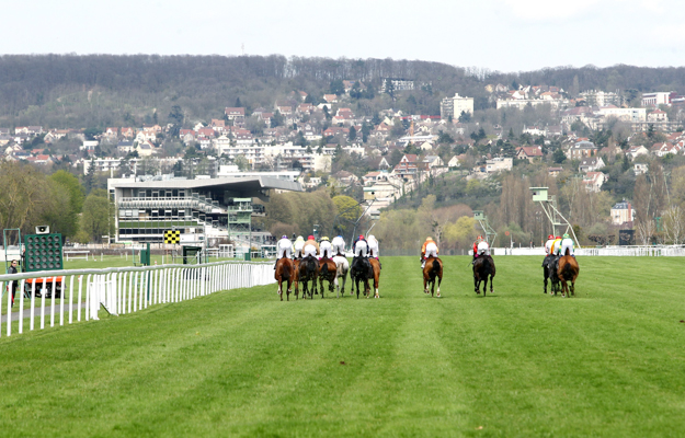 A race at Maisons-Laffitte. Photo: Maisons-Laffitte