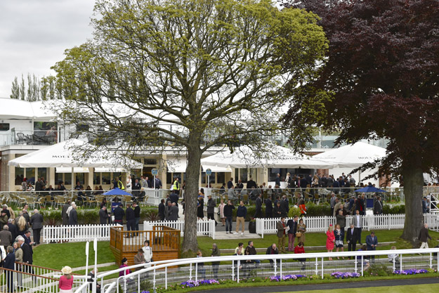 New Moët Pavilion at York. Photo provided by York Racecourse.