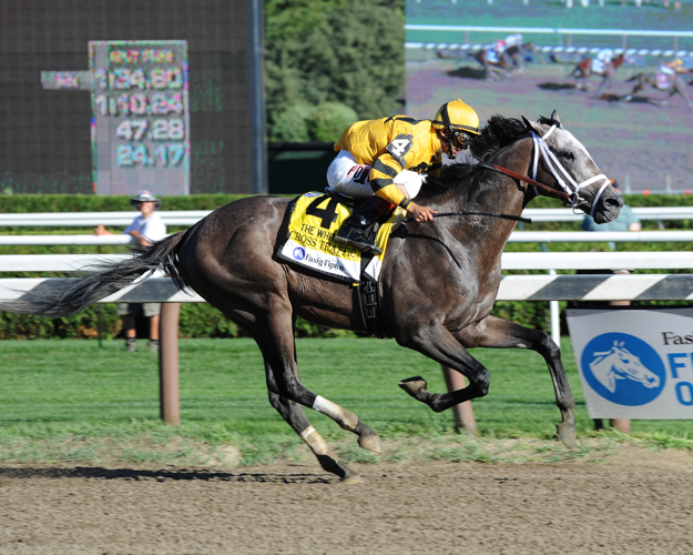 Cross Traffic won the 2013 Whitney. Photo: NYRA/Adam Coglianese.