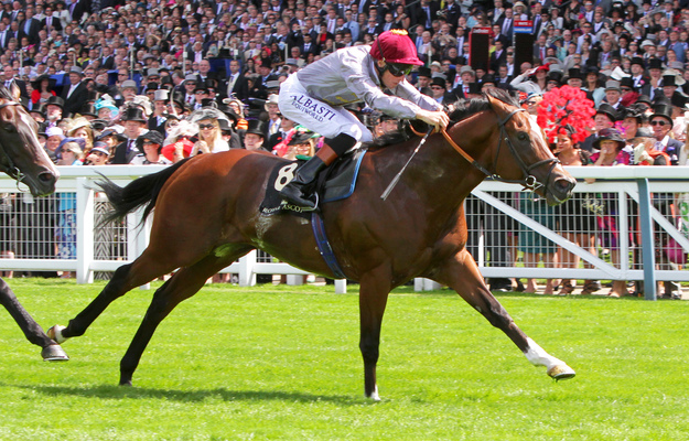 Hannon-trained Toronado winning the G1 Queen Anne Stakes at Royal Ascot. RacingFotos.com