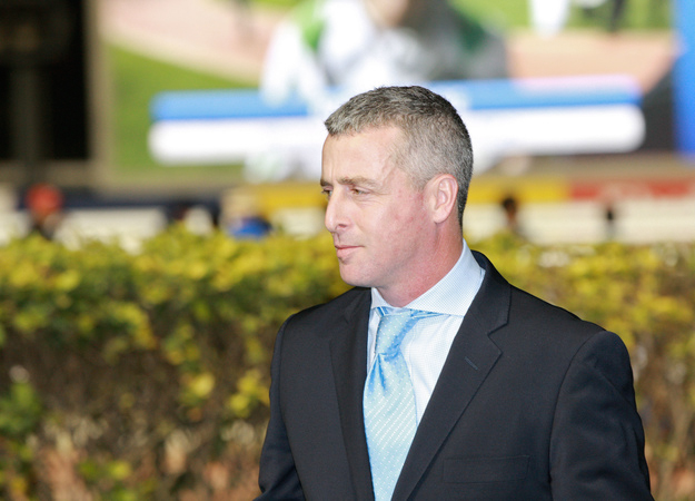 Trainer David Marnane at Meydan Racecourse. RacingFotos.com