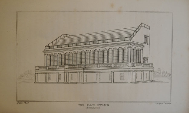Goodwood Stand design circa 1830. Photo: W.H. Mason.