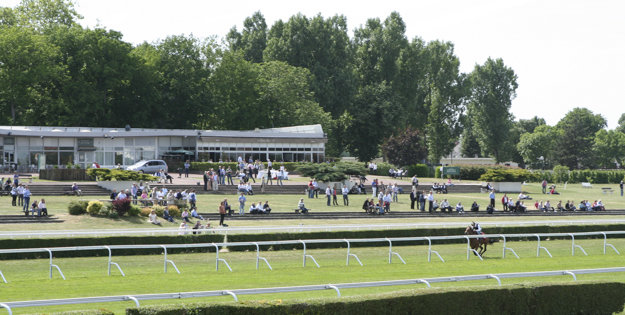 Arqana Breeze Up Sale at Saint-Cloud Racecourse. Photo: APRH.