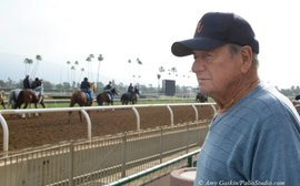 For a trainer who's made his own way, no thoughts of retirement