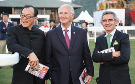 With Shanghai event, China Horse Club, Coolmore see progress toward Chinese racing dream