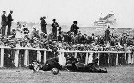 A suffragette, a sunken ship, and the infamous Epsom Derby of 1913