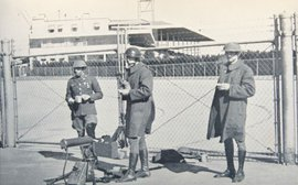 The day National Guardsmen were drafted in to stop racing taking place