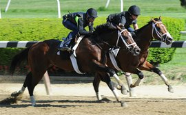 Handicapping the Belmont: Challenges from Materiality, Mubtaahij, Frosted loom for American Pharoah