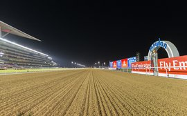 Rich pickings go begging on the Dubai dirt as US trainer is forced to stay home