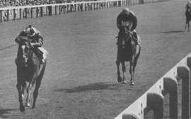 The day a US-based jockey produced one of the biggest shocks in British racing