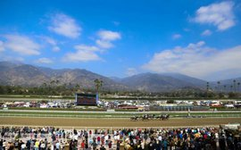 Santa Anita stakes schedule cuts back for gains