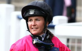 Two female jockeys who have put the men well and truly in their place