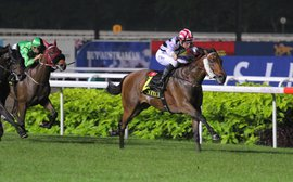 Rain-soaked turf proves no problem on Kranji's big night
