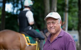 Over jumps and on the flat, trainer Jonathan Sheppard is in a league of his own