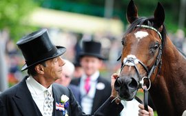Honors at Epsom for a legend who transcended racing