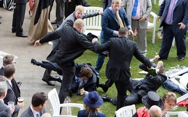 Brawling on British racecourses: how can the authorities be surprised?