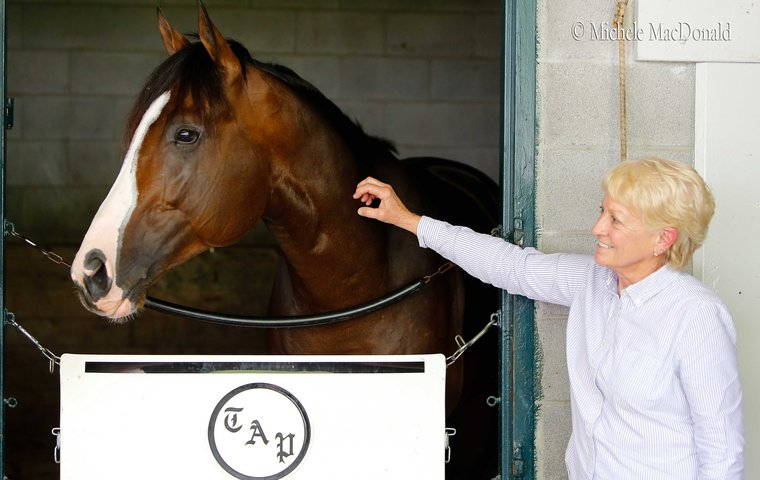 the shy grandmother who is todd pletcher s director of operations rh thoroughbredracing com