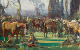 Juddmonte supports London collection of Sir Alfred Munnings' paintings