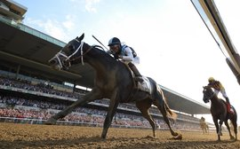 Under-appreciated Tapwrit rams home the lesson of the Belmont