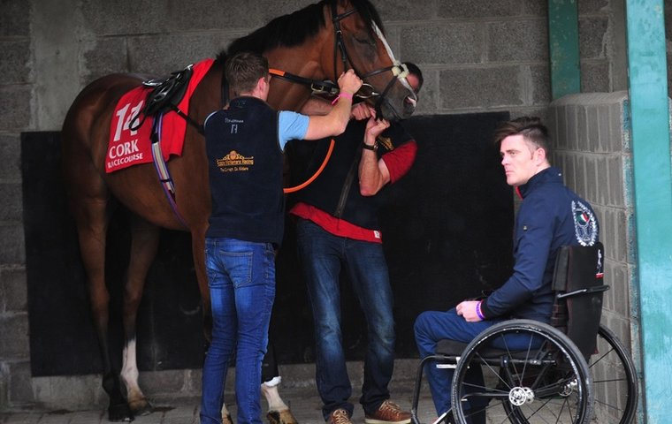 The fairytale story of a former jockey's triumph over paralysis and despair