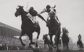 Echoes of this famed Kentucky Derby 'fighting finish' set to sound out at the Curragh