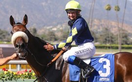 The young English rider earning rave reviews from some of California's finest