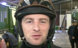 Dark days and despair of the jockey who died for six seconds - but this is no sob story