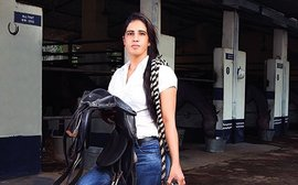 Meet the best female jockey in India (she's also the only one they've got)