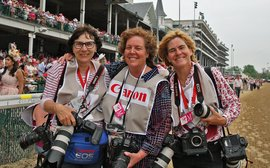 It's not always a smooth ride for these three outstanding racing photographers
