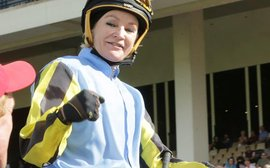 55-year-old Trudy Thornton puts female jockeys back in the spotlight