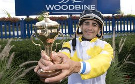 The rider who's taking Woodbine by storm - thanks to an accident that nearly ended his career