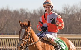 Meet the new star jockey from Puerto Rico setting Laurel Park alight