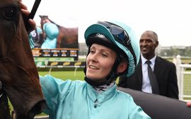 Is moving down under the only realistic option for a talented female jockey?