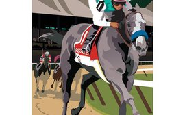 'Record Breaker!' featuring Arrogate is your favourite Travers poster