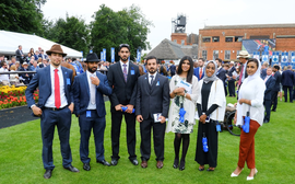 The students who will have their big day at Newmarket this weekend