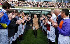 Female jockeys are as good as the men, new study shows