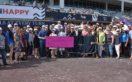 Pegasus World Cup: $80,000 goes to Thoroughbred aftercare