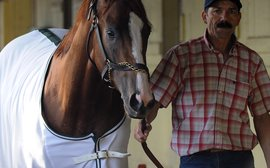 Art Sherman: bracing himself for life without California Chrome