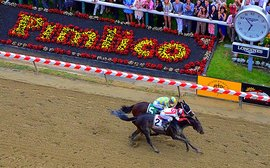 Preakness master plan proves Chad Brown is a huge force on dirt too
