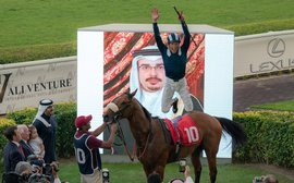 Now it's over to Bahrain for Dettori and Doyle
