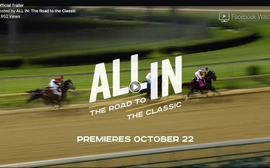 Going live soon: a behind-the-scenes docuseries on the road to the Breeders' Cup Classic
