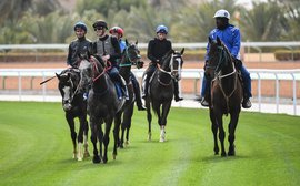 'Beautiful' new Riyadh turf track gets a huge thumbs-up as star riders put it to the test
